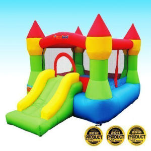 Bounceland Castle W Hoop Inflatable Bounce House