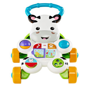 Fisher-Price Learn with aMe Zebra Baby Walker front