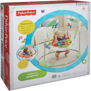 Fisher-Price Rainforest Jumperoo Baby Jumper box