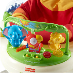 Fisher-Price Rainforest Jumperoo Baby Jumper toys