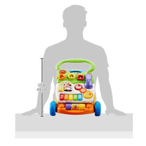 VTech Sit-to-Stand Learning Baby Walker dimensions
