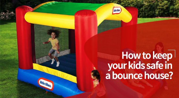 How to keep your kids safe in a bounce house
