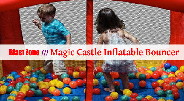 Blast Zone Magic Castle Inflatable Bouncer cover