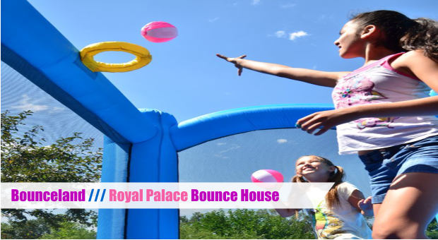 Bounceland Royal Palace Bounce House with Slide cover
