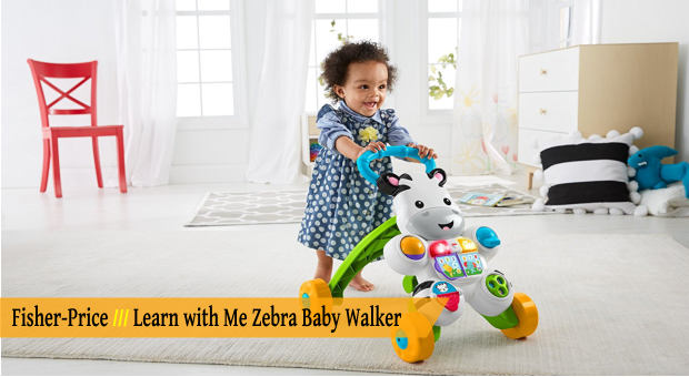 Fisher-Price Learn with Me Zebra Baby Walker cover