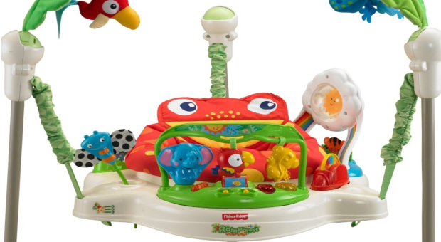 Fisher-Price Rainforest Jumperoo Baby Jumper