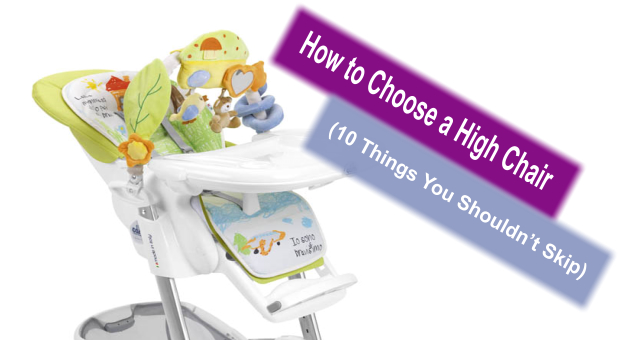 How to Choose High Chair