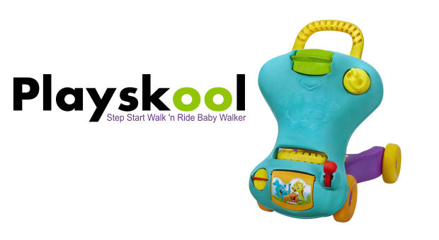 Playskool Step Start Walk n Ride Baby Walker Review