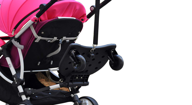 Englacha 2-in-1 Cozy X Rider Stroller Board Review