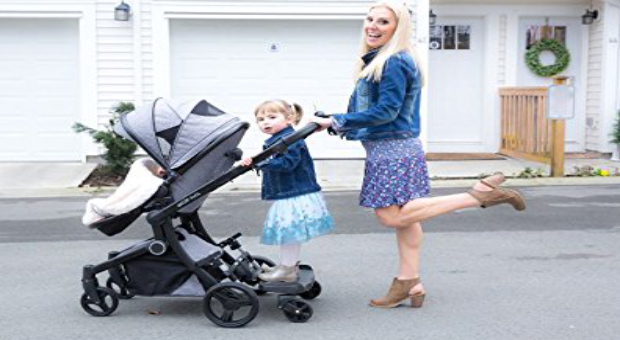 guzzie plus Guss Hitch Ride-On Stroller Board Review